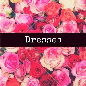 Dresses for sale in my closet